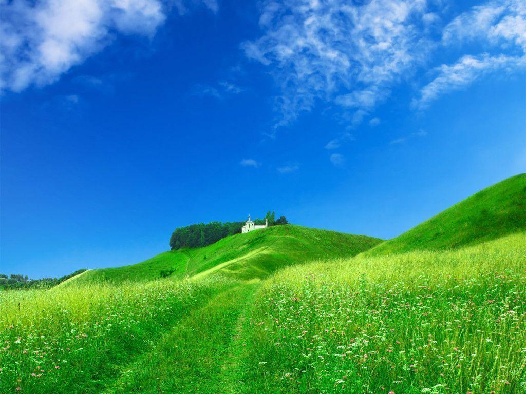 Nice Hills Wallpaper