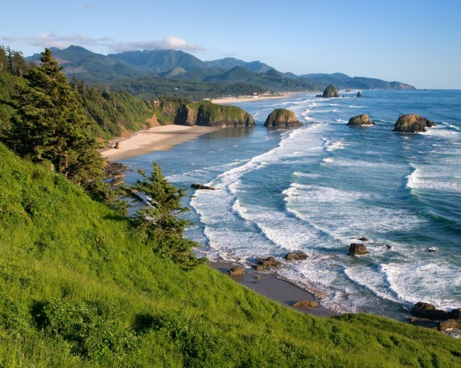 Widescreen Oregon Coast