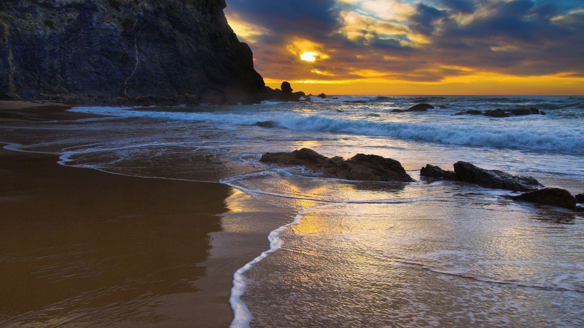 Widescreen Seascape Wallpaper