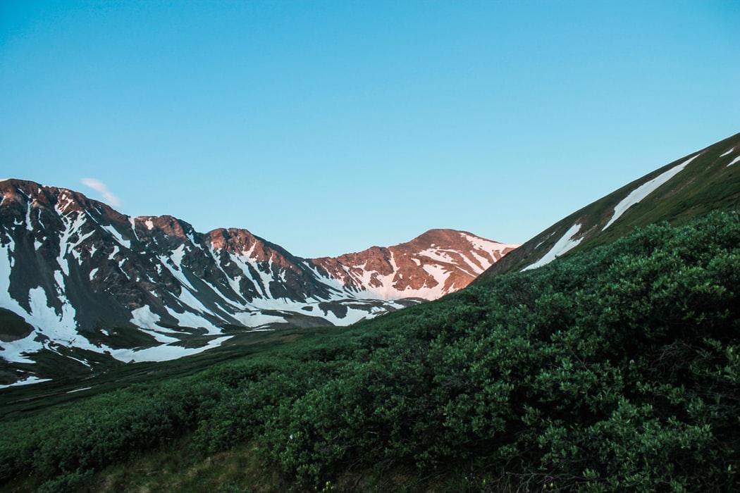 Top Mountain Wallpaper