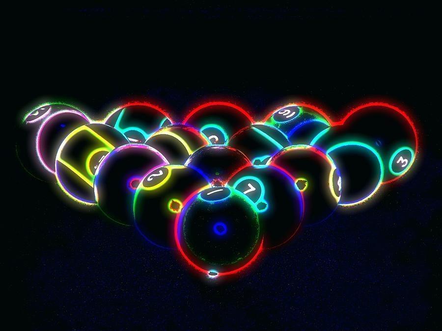 Art Neon Balls