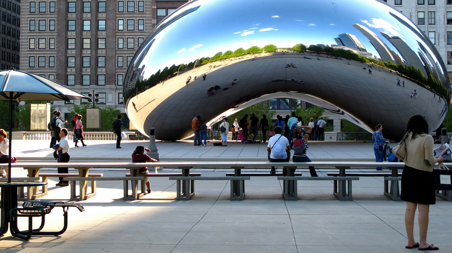 Free Chicaco Cloud Gate