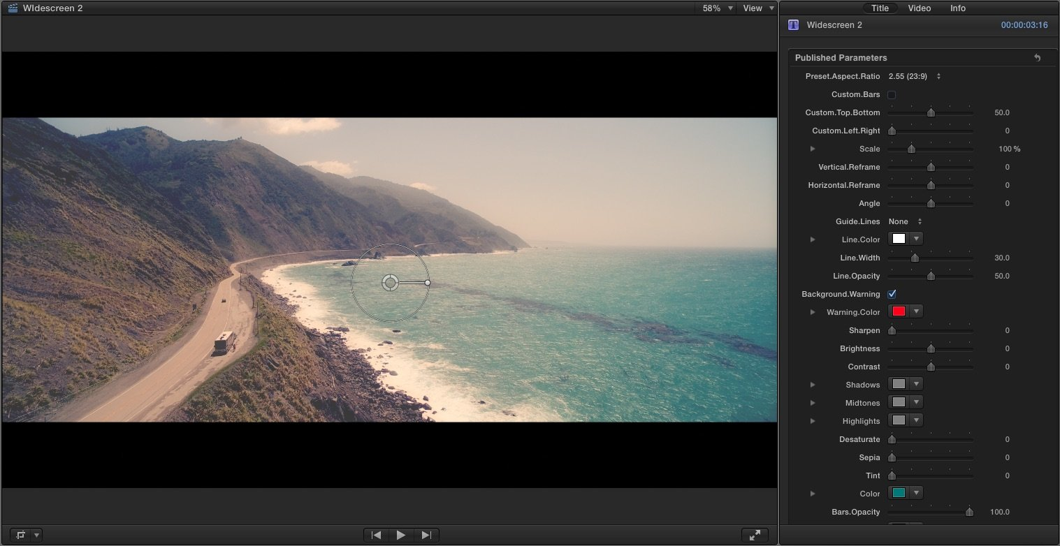 HD Widescreen Image
