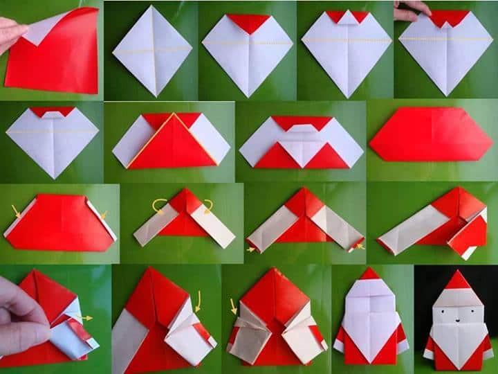 Free Christmas Origami