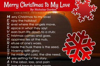 HD Christmas Poem 28256