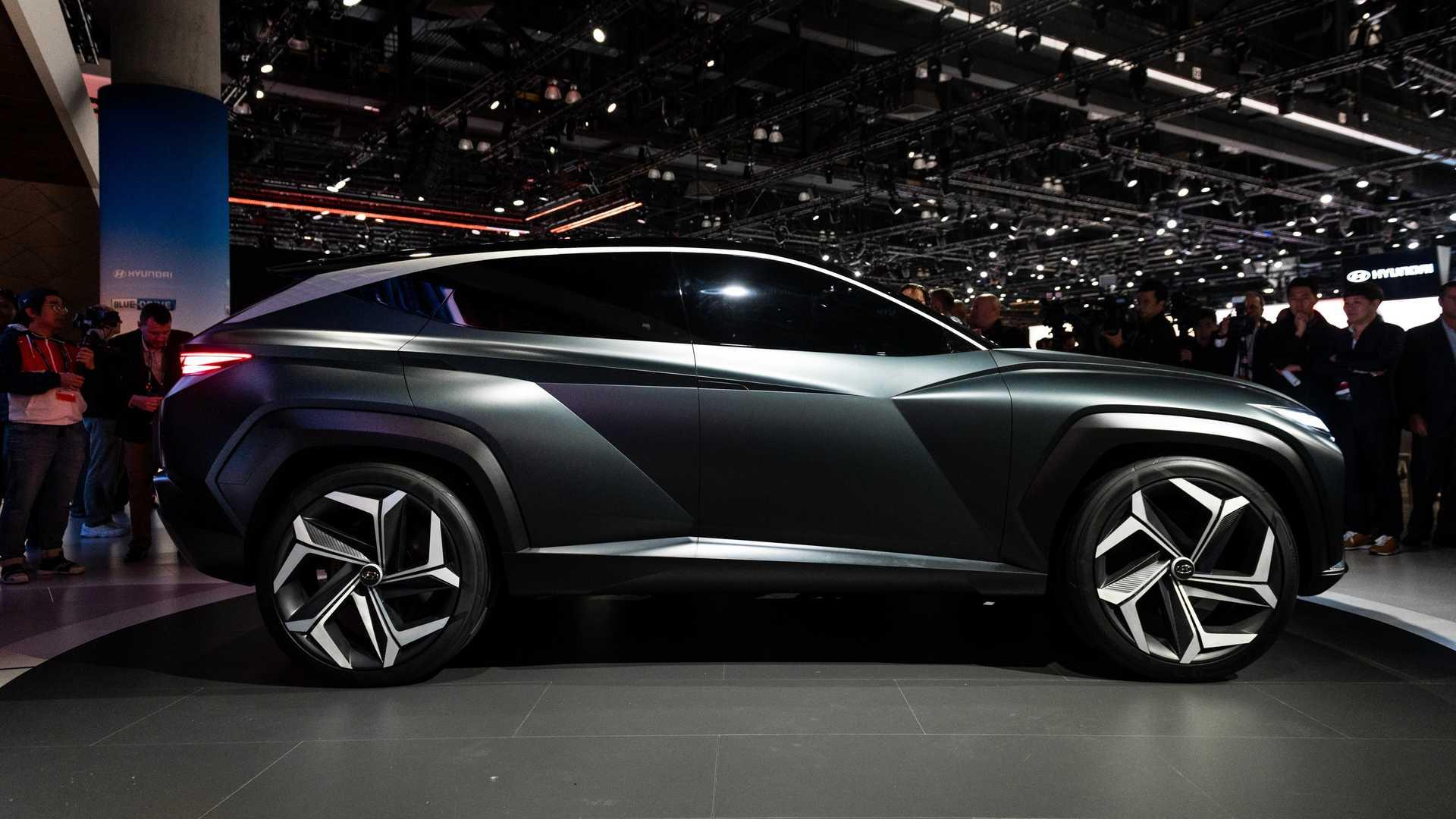 Black Hyundai Vision T