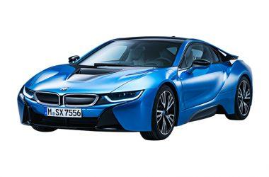 Blue BMW i8