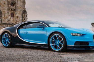 Blue Bugatti Chiron 28355