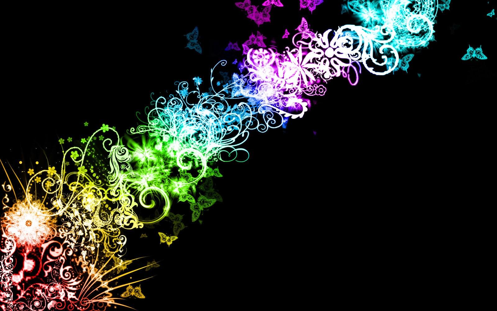 Digital Swirls Wallpaper