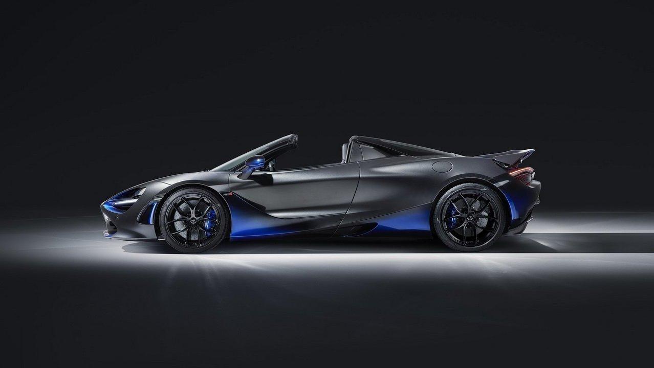 Grey McLaren 720S Spider