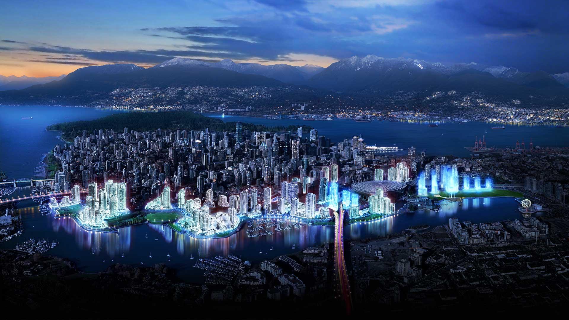 Landscape Vancouver Wallpaper