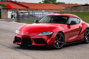Red Toyota GR Supra 28697