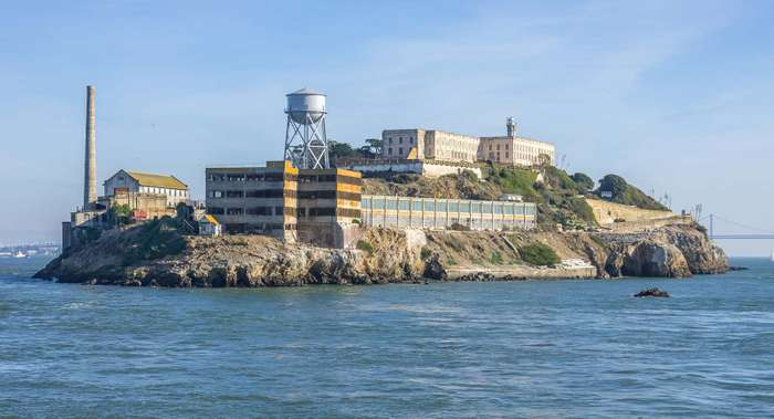 Sea Alcatraz Island