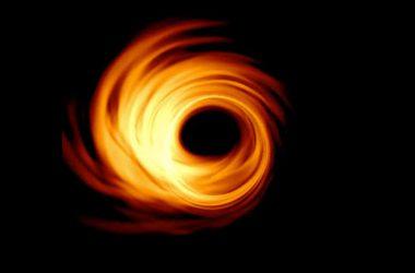 Top Black Hole Image