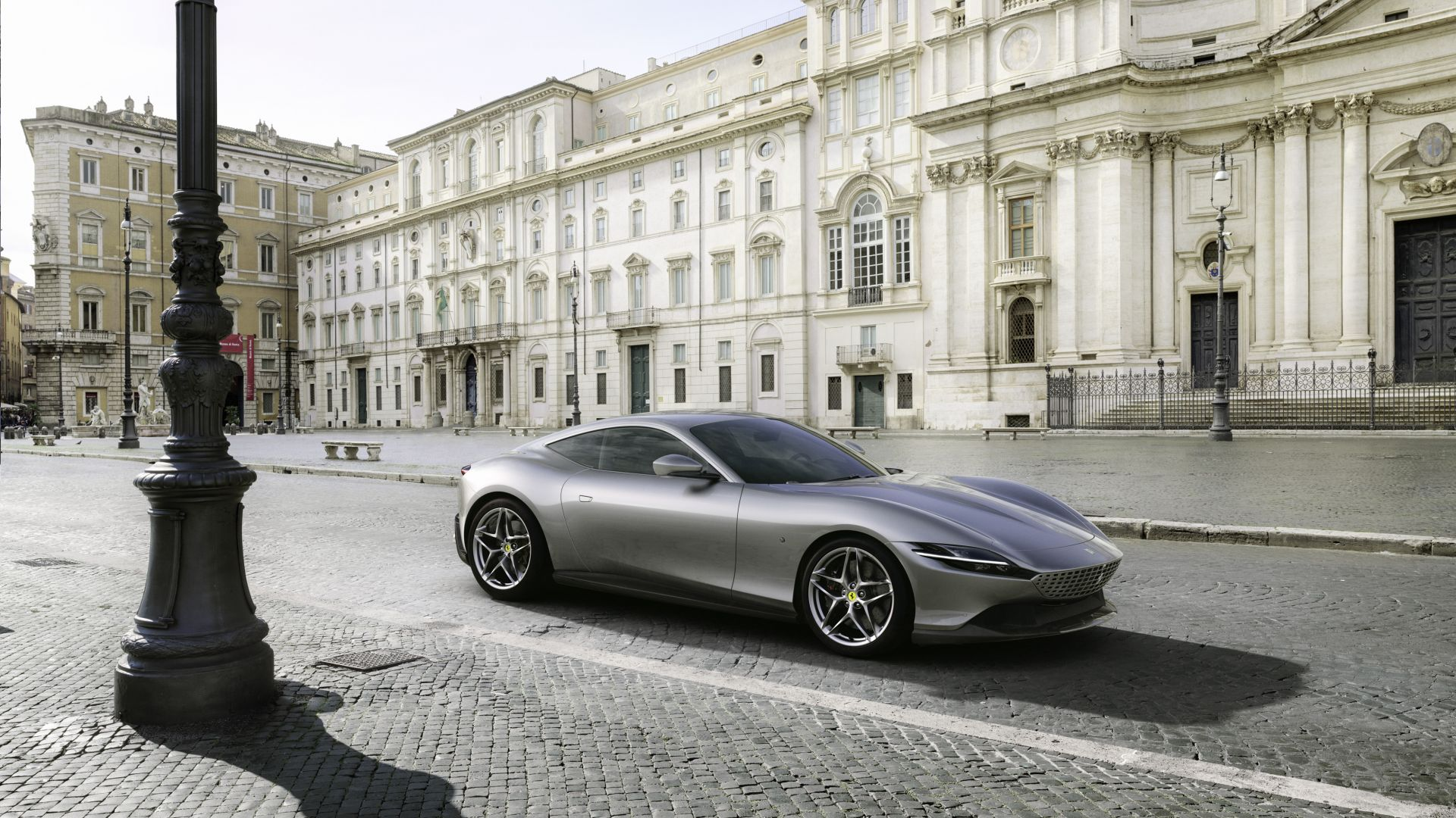 Grey Ferrari Roma F169