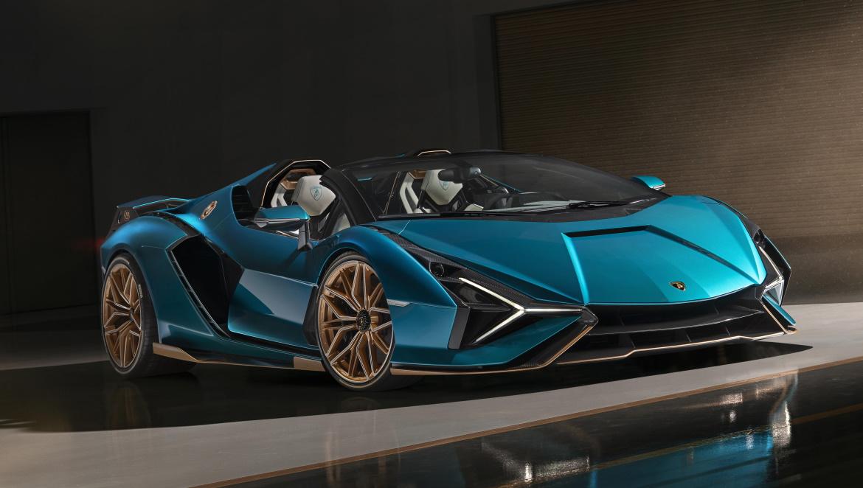 Nice Lamborghini Sian Roadster