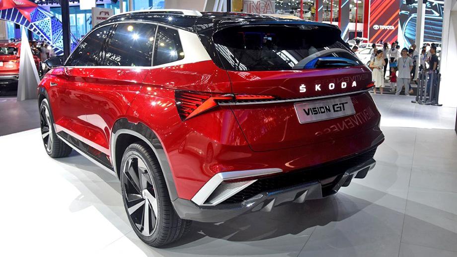 Latest Model Skoda Vision GT