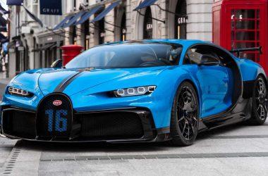 Awesome Bugatti Chiron Pur Sport