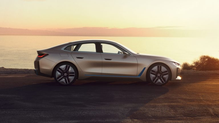 Beautiful BMW i4 Image
