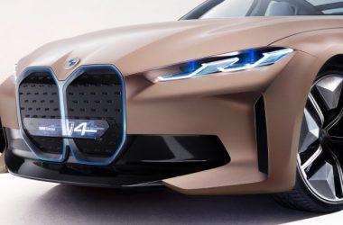 Front Side BMW i4 Image