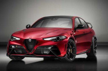 Red Alfa Romeo Giulia GTAm