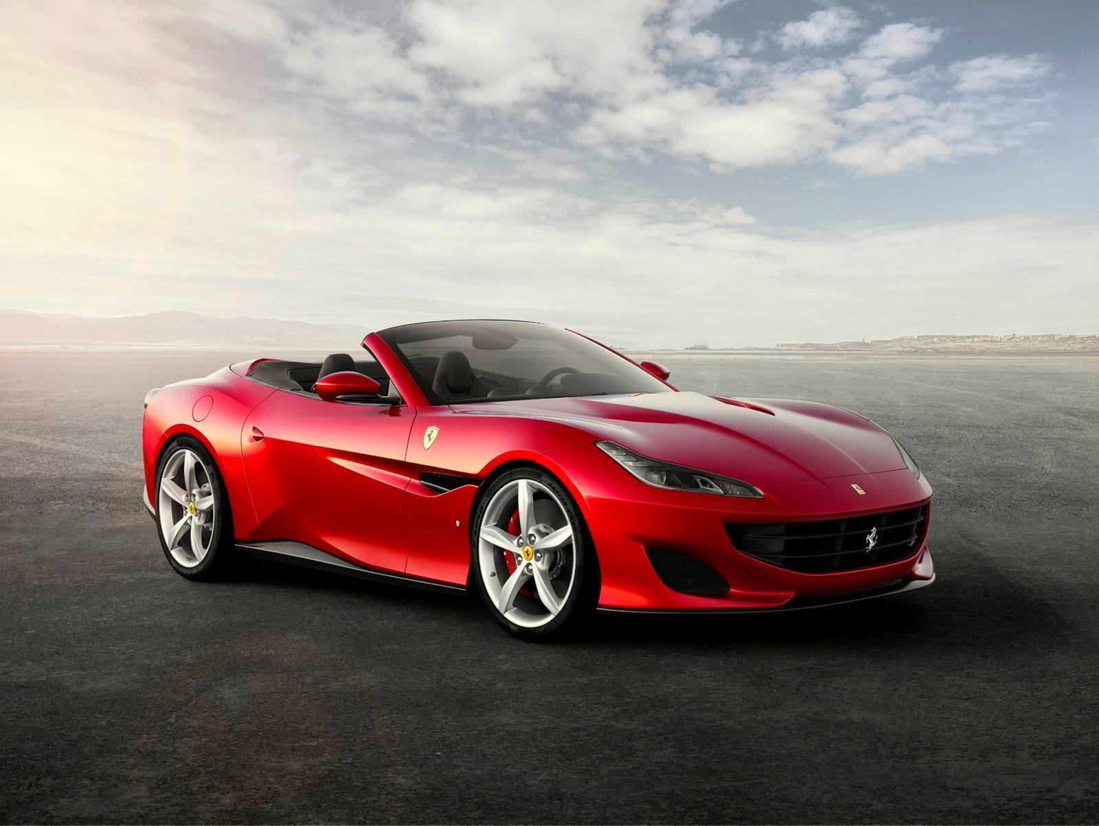 Red Ferrari Portofino M