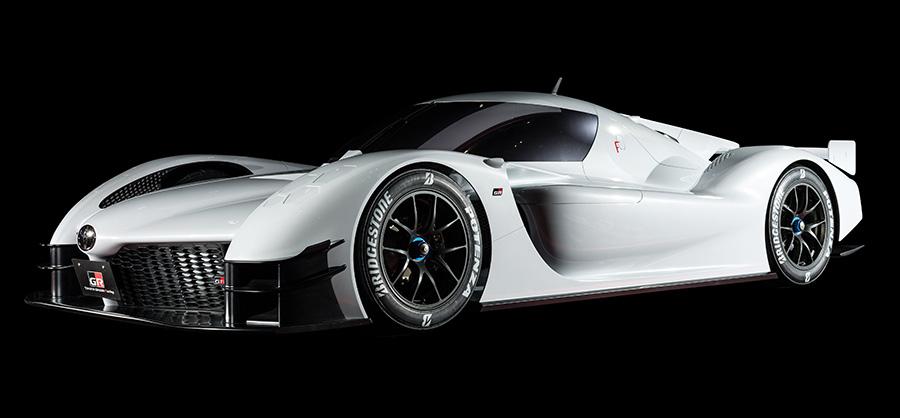 White Toyota GR Super Sport