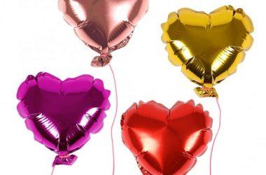 Art Heart Balloons