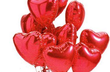 Beautiful Heart Balloons