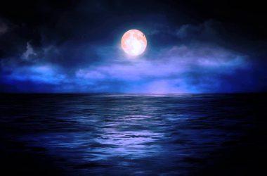 Beautiful Moon Background