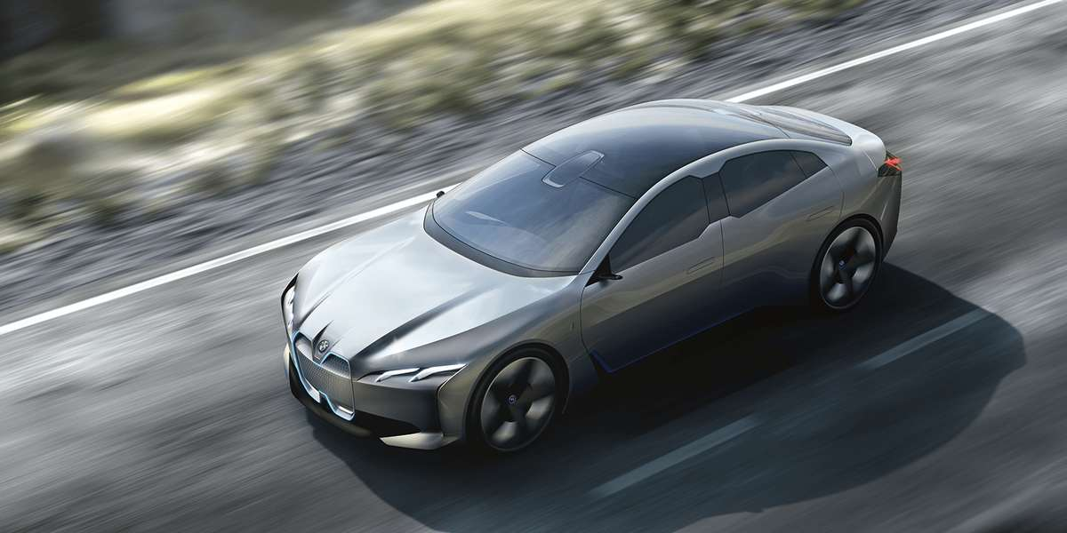 Grey BMW i4