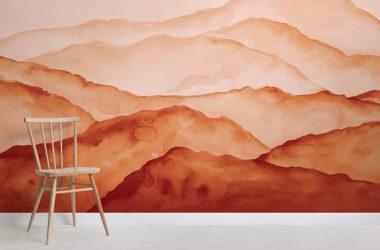 Art Orange Wallpaper