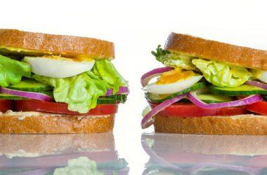 Best Veg Salad Sanwich