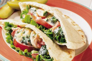 Food Veg Salad Sanwich