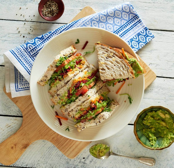Nice Veg Salad Sanwich