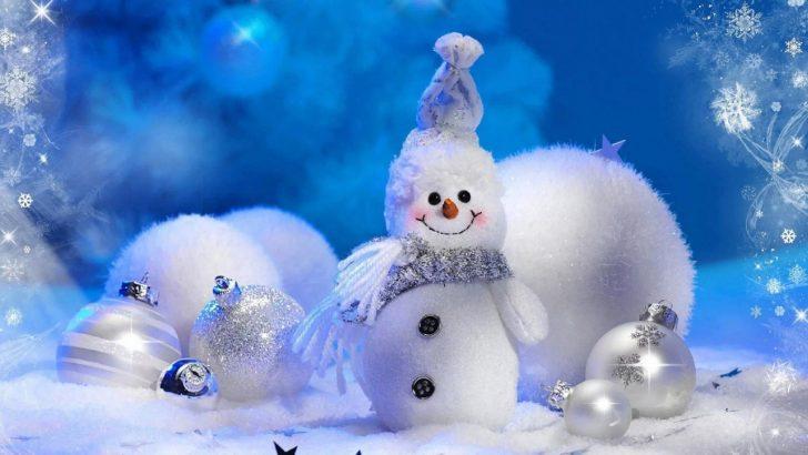 Snowman Winter Backgrounds