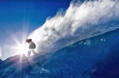 Widescreen Snowboarding Wallpaper