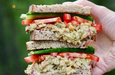 Yummy Veg Salad Sanwich