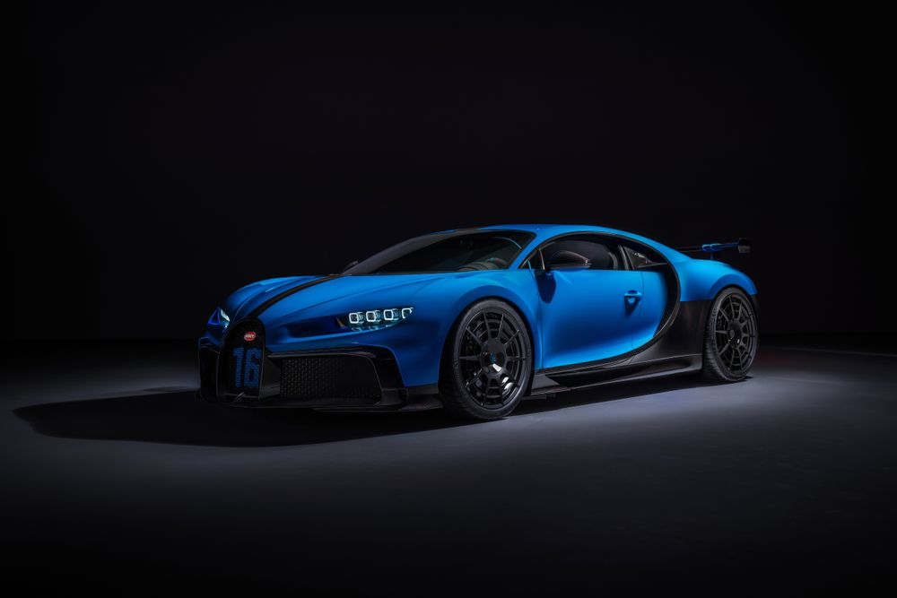 Amazing Bugatti Chiron Pur Sport