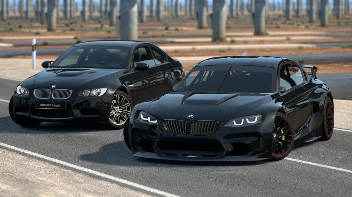 Black BMW Vision Gran Turismo