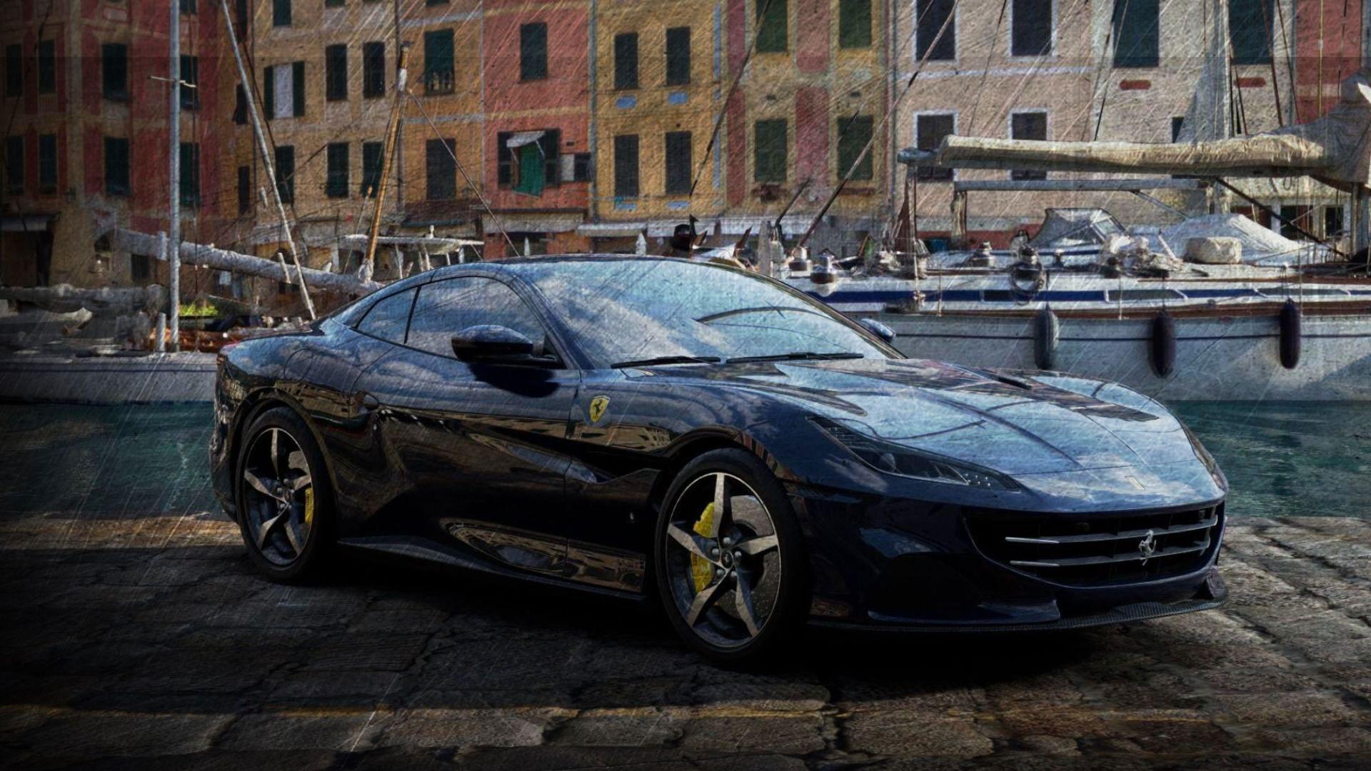 Black Ferrari Portofino M