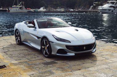 Grey Ferrari Portofino M
