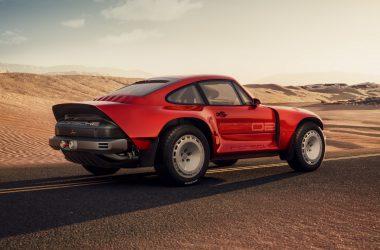 Red Singer ACS Porsche 911
