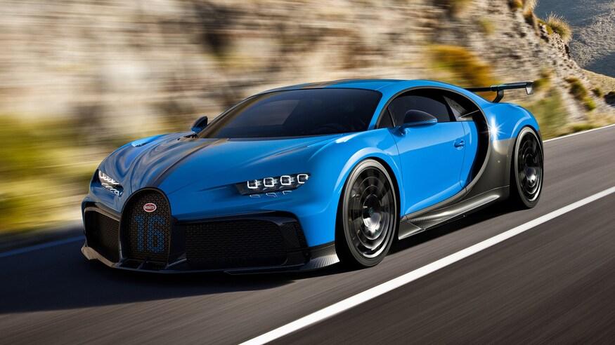 Top Bugatti Chiron Pur Sport