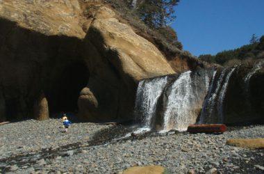 Beautiful Hug Point Falls