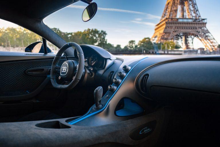 Interior Bugatti Chiron Pur Sport
