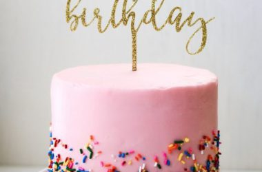 Top Birthday Cake