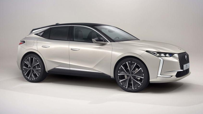 2020 Grey DS 4 E-Tense