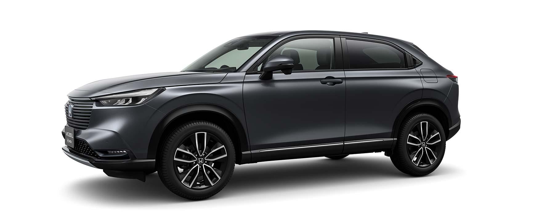 Black Honda Vezel eHEV