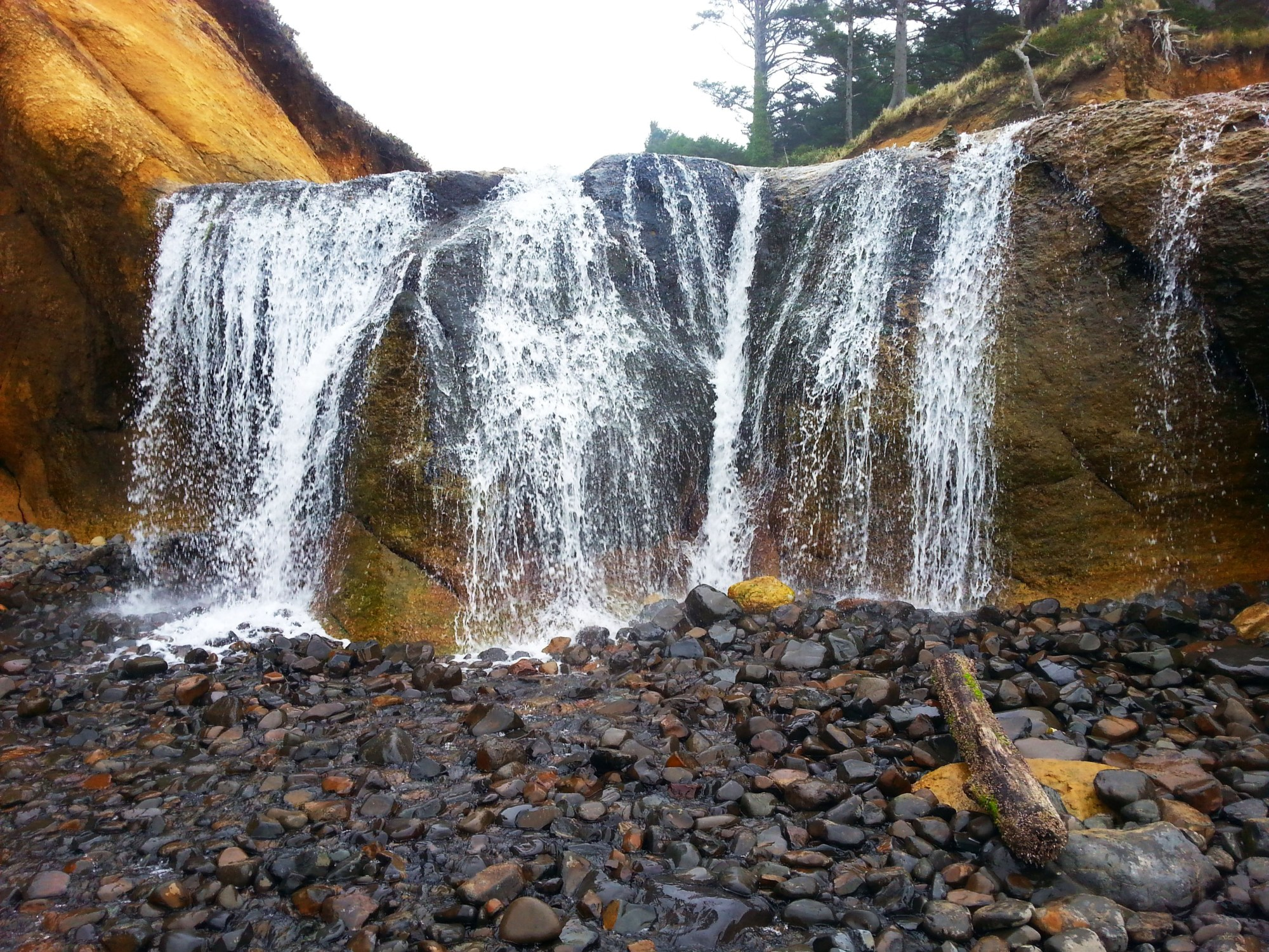 Landscape Hug Point Falls 33447